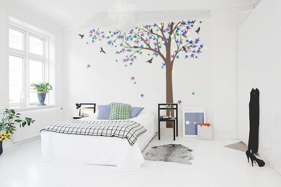 & Large Maple Tree decal nursery vinyl decal tree wall decal