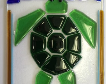 Sea turtle sun catcher