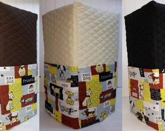 Quilted Dog Patch Coffee Maker Cover (3 Options Available)
