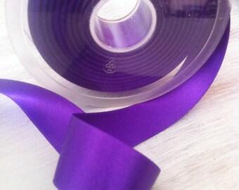 Double faced collar 248 Lavender satin ribbon