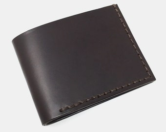 Leather Wallet, Men's Leather Wallet, Men's Wallet, Wallet, Thin Leather Wallet, Slim Leather Wallet, Brown Leather Wallet