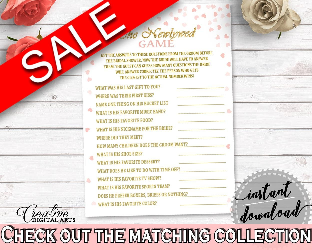 The Newlywed Game Bridal Shower The Newlywed Game Pink And