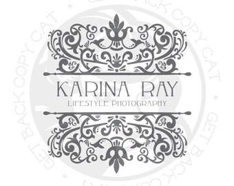 premade logo design customizable logo logo template ornate