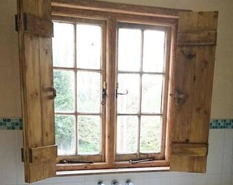 Barn window shutters   Etsy
