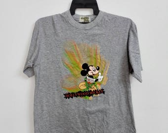 Sale!!! Vintage Hollywood Mickey Mouse Disney Tshirt Size Large
