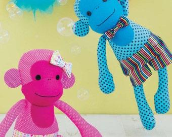 Monkey Toy Sewing Pattern Download (803740)