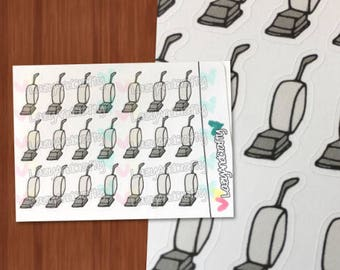 Vacuum Icon - Planner Stickers - ECLP, Happy Planner, Filofax, scrapbooking, and much more!