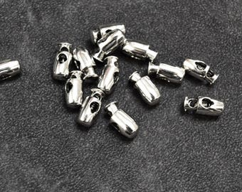 set of 15 stop cord silver 15mm