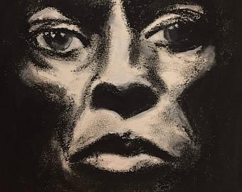 Miles Davis Signed 11x14 Print