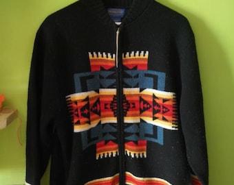 Pendleton sweater vibrant colors