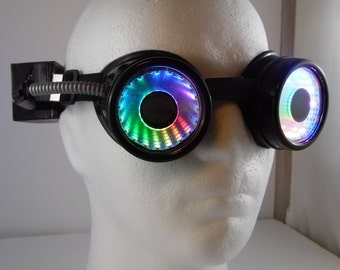 LED infinity Goggles V 2.0 see throughable