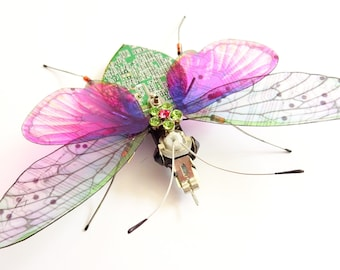 The Sparkly Jewelled, Flower Power Butterfly, Circuit Board Insect
