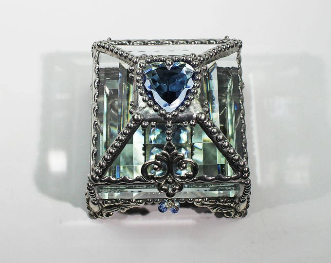 Heart Jewel 2.5x2.5 SILVER