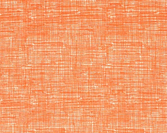 Sketch Orange Fabric  - 1 Yard Cut - Timeless Treasures  - Cotton Fabric - Quilting Fabric - C8224-Orange