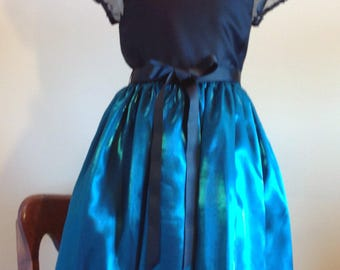 Little Girls Taffeta Dress, birthday, special occasions, holiday, party