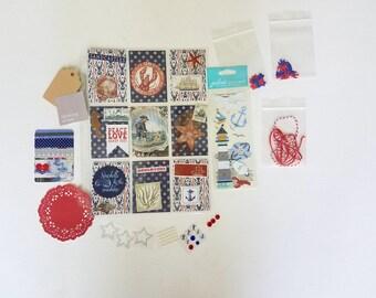 Nautical Themed Pocket Letter Starter Kit