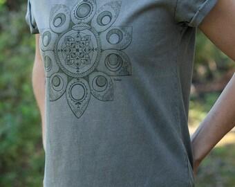 Organic Females Lunaborea Rolled Sleeve T-shirt