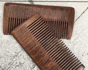 Historical Wooden 18th Century Comb Hairdressing Toilette Comb Reenacting Comb Pomatum & Powder Hairdressing Vintage Wooden Comb Natural