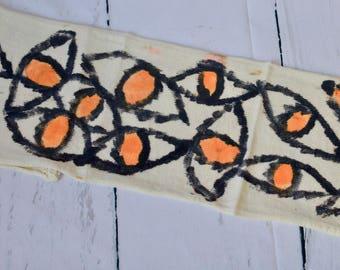 OOAK Hand Painted sock blanks / identical socks / sox / socks / knitting/ crochet