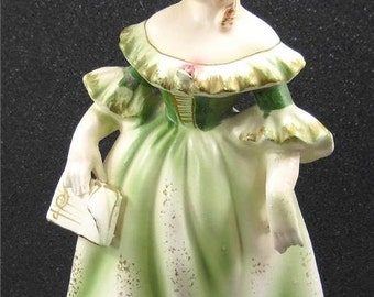 Vintage Porcelain Choir Girl Figurine