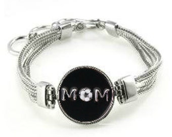 Soccer Mom Bracelet,  Soccer Mom Jewelry, Gift For Soccer Mom, Bracelet For Soccer Mom, Soccer Mom, Soccer