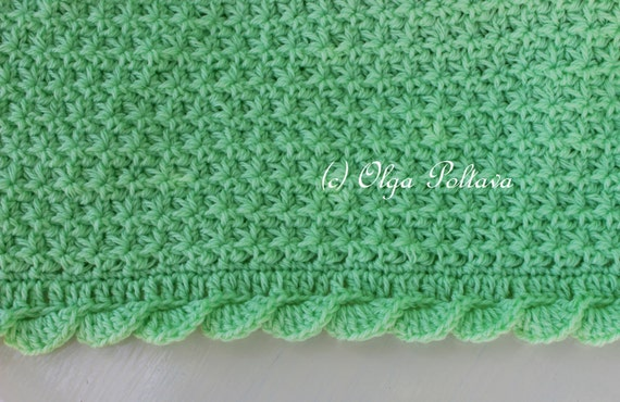 Baby Blanket Crochet Pattern Crochet Star Stitch Baby Afghan With