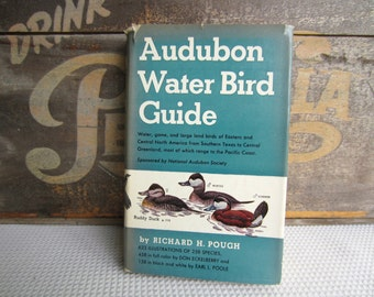 Vintage 1951 Audubon Water Bird Guide