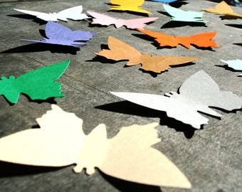 Large BUTTERFLIES Set of 50 cardboard cutout, Large butterfly die cut, Wedding butterflies, Large paper butterflies Nursery decor