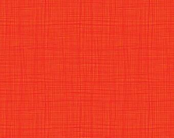 LINEA fabric cotton patchwork red coral LINEA x50cm