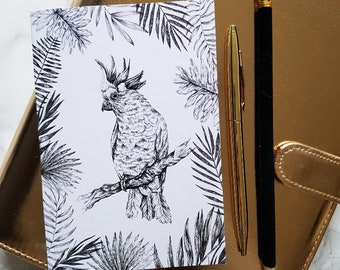 A6 Tropical Notebooks Pack of 2