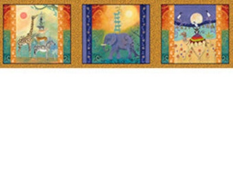 Animal Magic Panel Fabric 1 Panel