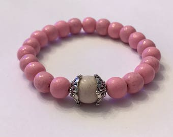 Pet Fur Bead Bracelet