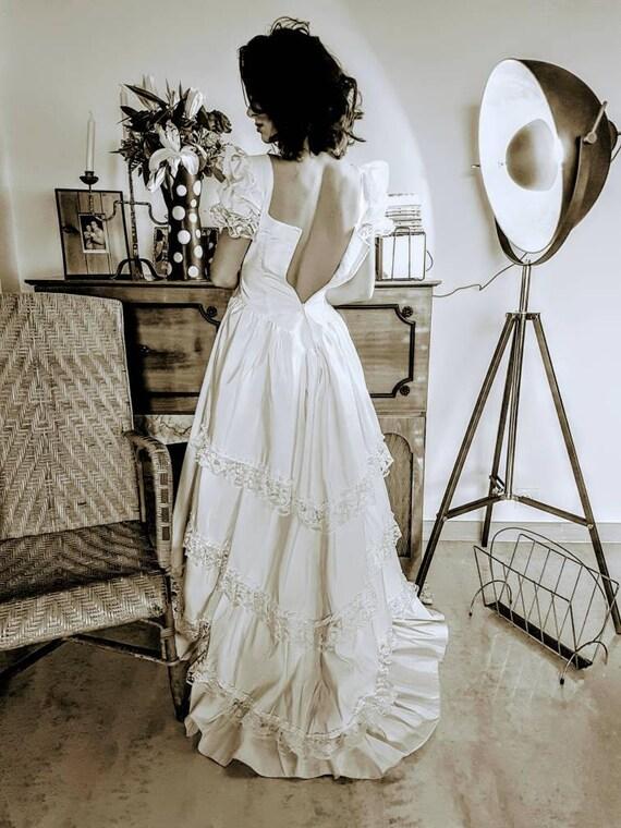 Wedding dress vintage french vintage wedding dress french