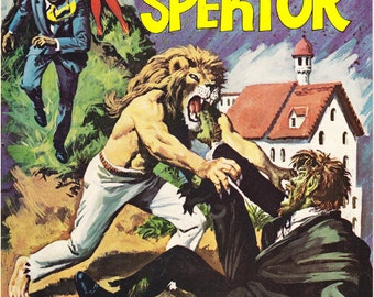 The Occult Files of Doctor Spektor 13, Werewolf Comic Horror book, Monster, Scary Halloween art. 1975 Gold Key in VF+ (8.5)