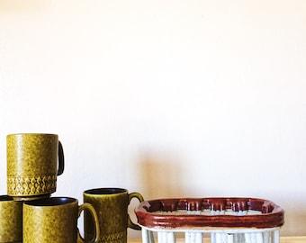 Ceramic Berry Basket, Vintage Pottery Berry Bowl, Berry Basket Bowl, Fruit Basket, Vintage Market Fruit Bowl, Berry Bowls, Colorful Ceramics