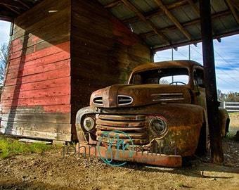 Rusty Truck, Truck, Rural Decay,  Urban Decay, Abandoned,  Wall Decor, Home Decor, Fine art print, Fine art photography, Photography