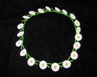 Tutorial - Daisy Chain Necklace