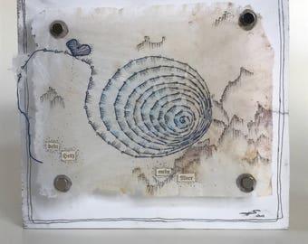 TeaDream, teabag Art