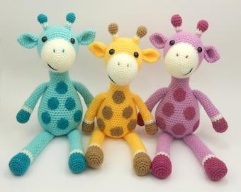 Giles the Giraffe - Amigurumi Crochet Pattern
