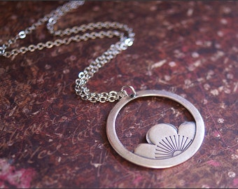 Silver Lotus Necklace, Silver Flower Necklace, Friendship, Good Luck Jewelry, Mom, Sister, Best Friend Gift, Silver Jewelry, SALE, SALE