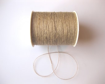 50 yards of 1mm Natural Jute Twine