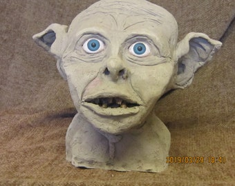Lord of the Rings Character Sculpture, Smeagol, Gollum