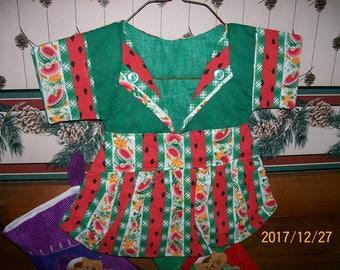 Watermelon Handmade Clothes Pin Bag