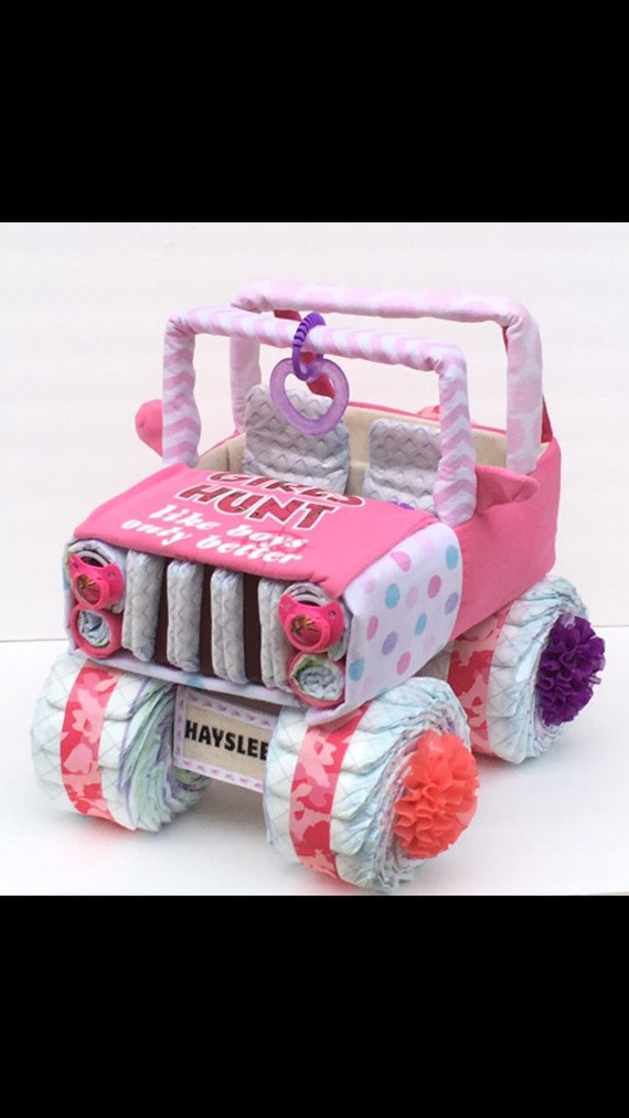 Pink Camo Jeep Pink Camo Baby Pink Camo Baby Shower Girls
