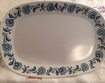 "13"" Noritake Progression Stephanie Platter"