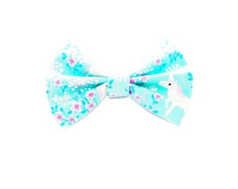 Hair Bow / Bow Tie / Unicorn Hair Bow / Unicorn Hair Clip / Unicorn Bow / Unicorn Birthday Party / Birthday Gift for Girl / Party Favor