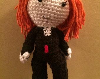 Ready to Ship Natasha Romanoff Black Widow Inspired Amigurumi Doll