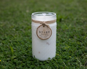 Hygge Citrus Organic Soy Candle