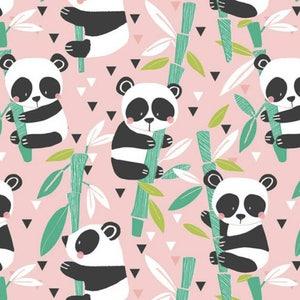 Panda Bear Fabric Etsy