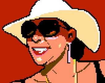 Custom Pixel Portrait